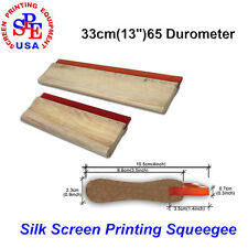 "1Pcs 33cm(13"") 65 Duro Durometer - Screen Printing Squeegee Blade for Printing"
