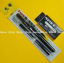 "Pentel  ""XGFKP & FP10""  Pocket Fude Brush Pen With 2 Refills  Japanese  F/S"