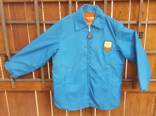 Helmsman Deluxe Floatation Jacket-Sears-Adult L-Blue-Coast Guard Approved-VTG