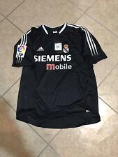 Real Madrid Spain S Zidane Raül Beckham Era Jersey Adidas Climacool Soccer Shirt