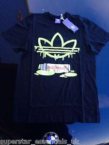 BNWT Mens ADIDAS ORIGINALS Graphic Graffiti Marker T-shirt All Sizes Retro XS S