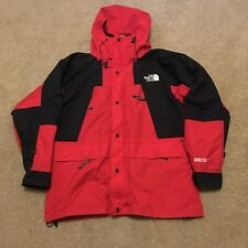 Vintage 90s The North Face GORE TEX Jacket Medium M Coat Supreme Red Black