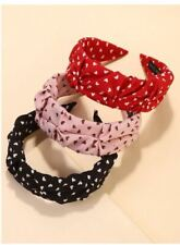 Women's Hair Accessories Heart Pattern Ruched Style Headbands