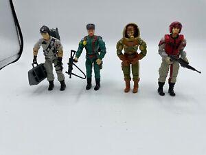 Vintage ARAH Lot of 4 incomplete figures: Red Bear, Mainframe, Crazy Legs
