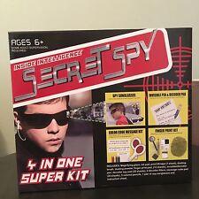 Inside Intelligence Secret Spy 4 in 1 Super Kit