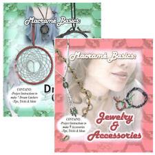 Macramé Basics Jewelry & Accessories and Dream Catcher Diy Craft Books