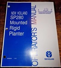 Heavy equipment manuals books for planter and case ih ebay new holland sp280 mounted rigid planter operators owners manual 1103 nh sciox Choice Image