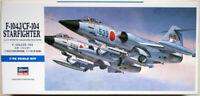 Hasegawa D16 F-104J/CF-104 STARFIGHTER (JASDF) 1/72 scale kit