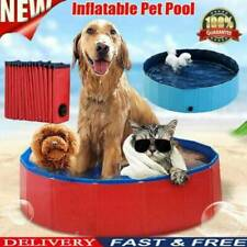 Portable Pet Bath Swimming Pool Foldable Dog Cat Bathing Collapsible Tub NEW