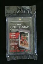 Ultra Pro One Touch Magnetic UV Card Holder Display Case 180 pt Cards Lot of 4
