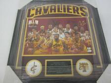 2016 Cavaliers Team Signed 23x24 Framed 11x17 Photo LeBron, JSA, PAAS LOA COA