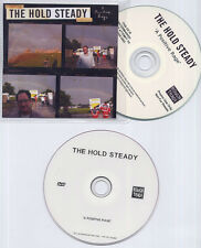 THE HOLD STEADY A Positive Rage 2009 UK numbered 17-trk promo test CD+DVD