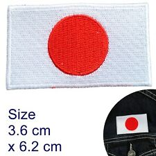 Japan flag iron on patch Tokio Nippon Japanese flags iron-on embroidery patches