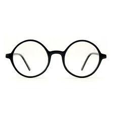 1920s Vintage eyeglasses oliver Retro round frames 19R0 Black eyewear rubyruby