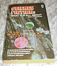 Science Fiction: What it's All About, Sam J. Lundwall, Paperback