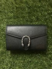 Gucci Black Super Mini Dionysus Bag