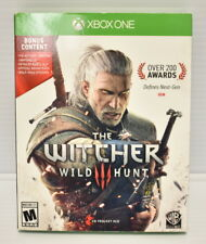 Xbox One The Witcher 3: Wild Hunt w/ Bonus Content SHIP FAST