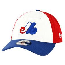 """New Era 920 Montreal Expos """"Core Classic"""" Strapback Hat (RB RD WH-RB) Dad Cap"""