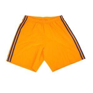MLS Adidas Men's 3-Stripe Orange Climaliate Condivo 18 Blank Shorts