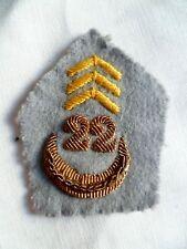 1 Patte de col uniforme 22° RTA TIRAILLEURS ALGÉRIENS ORIGINAL FRANCE Officier