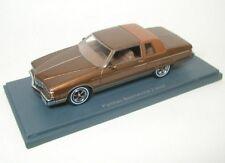 Pontiac Bonneville Brougham (brown) 1980