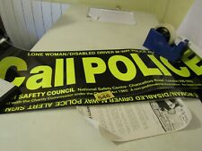 Vintage British Safety Council Signs