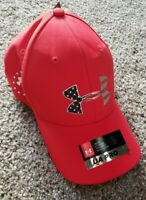 NEW UNDER ARMOUR MEN'S UA PROFIT FREEDOM RED WHITE BLUE BASEBALL HAT SMALL NWT