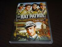 RAT PATROL The Complete First Season One 1 - MGM (2006, Rare OOP 4-Disc DVD Set)