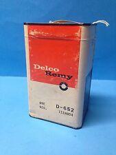 NOS Delco Remy Voltage Regulator  D-652 GMC Chevy International Truck