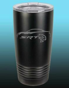 Dodge SRT Hellcat Charger Outline 20oz / 30oz Stainless Steel Tumbler