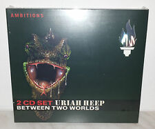 2 CD URIAH HEEP - BETWEEN TWO WORLDS - NUOVO NEW