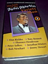 The Best of Dean Martin Variety Show Volume 2 VHS NEW