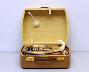 Dual 295 Party Plattenspieler, Vintage Phonokoffer, 1956-59 an Bastler