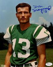 Don Maynard 1969 NY Jets Super Bowl Champs signed 8x10 photo auto autograph JSA