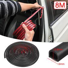 26.24ft D Shape Rubber Sealing Weather Strip Hollow Car Door Moulding USA # *