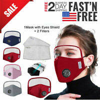 Face Shield Reusable Washable Anti-Splash Protection Cover Safety Full Face Mask