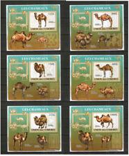 Kamele ** Blocksatz  , Komoren (2009 , geschnitten)