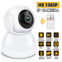 WIFI Wireless IP Camera 1080P CCTV Audio Home Security Pan&Tilt Baby Monitor