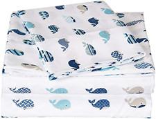 Mi Zone Printed Sheets, Twin, Blue