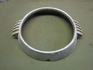 1954 Lincoln Head Light Trim Ring Part # FAB 13052-B Used OEM