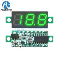 """0.28"""" 3-Wire Green LED DC 0-100V Voltmeter Digital Display Voltage Panel Meter"""