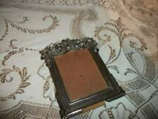 BUCKLERS ART NOUVEAU PICTURE FRAME METAL PEWTER COLOR EARLY VINTAGE MID CENTURY