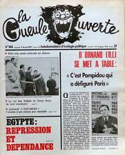 REVUE LA GUEULE OUVERTE N°144 . 1977 . D'ORNANO SE MET À TABLE . ÉCOLOGIE