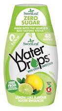 Sweetleaf Stevia Water Drops Lemon & Lime - 48 Servings - 48ml