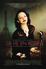 LA VIE EN ROSE - 27x40 D/S Original Movie Poster One Sheet Edith Piaf RARE 2007