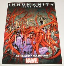 Poster - Inhumanity Issue Two/All New X-Men #1 & Guardians #1 - VF - SALE!!!