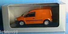 VW VOLKSWAGEN CADDY 2005 ORANGE MINICHAMPS UTILITAIRE 1/43 TOLE