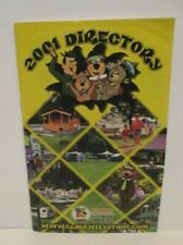 YOGI BEAR CAMPGROUND JELLYSTONE PARK 01 DIRECTORY BOOKLET BROCHURE HANNA BARBERA