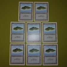 Island Basic Land (Green) x8 Revised Edition 8x Magic the Gathering MTG