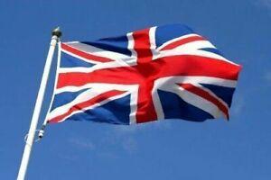 Quality Large 5ft x 3ft British Flag Union Jack United Kingdom Great Britain